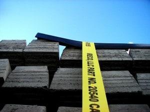 boxcar webbing securement